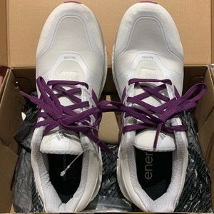 adidas Shoes - Adidas Energy Boost 2. Sz 9. White with purple